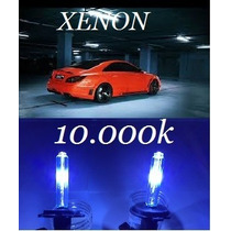 Lâmpada Xênon 10000k Reposição H1 H3 H4.2 H7 H11 Hb4 H27