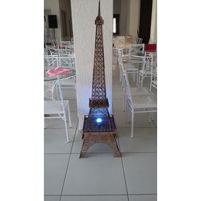 Torre Eiffell 1,80mts Mdf 3mm Cortado Laser Prep Iluminação