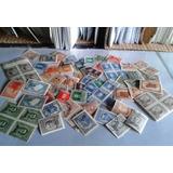 Lote Estampillas Argentina Ministeriales Mint Y Usadas