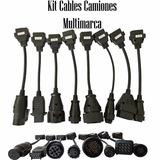 Kit Cables Adaptadores Obd2 Camiones Autocom Cdp Delphi