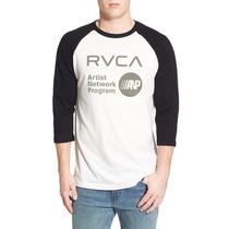 Playera Rvca (talla L) Fox Dc Vans Hurley Element Lrg Volcom