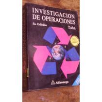 Investigacion De Operaciones , Año 1996 , Hamdy A. Taha