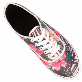 Zapatillas Floreadas Tropicales Estampadas + Envio Gratis!!