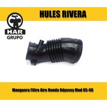 Manguera Filtro Aire Honda Odyssey Mod 05-06