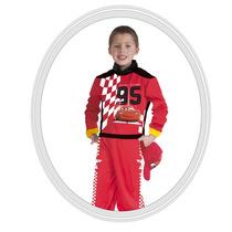 Disfraz De Niño Disney Cars 3 Años Rojo