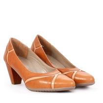 Batistella - Stilettos De Cuero Suela Combinado