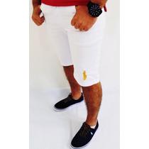 Bermuda Jeans Sarja Masculina... Grandes Marcas
