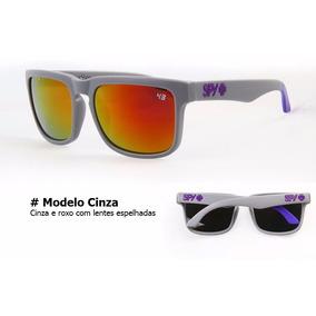 Óculos De Sol Spy + Ken Block Helm Com Proteção Uv