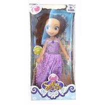 Muñeca Articulada Princesa Princesita Sofia Disney 35 Cm