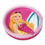 Barbie Praia Piscina Infantil Menina 135l Fashion Fun 7731-1