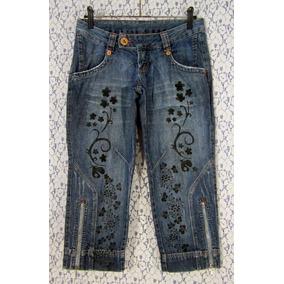 Calça Jeans 38 K2b Upcycled Lovely Lolla