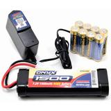 R/c Combo Bateria 7.2 Cargador 8 Aa Alc Traxxas Hpi Kyosho