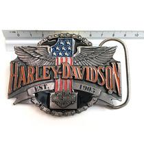 Hebilla Vintage Harley Davidson Original 1992