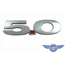 Emblema Ford Mustang 5.0 V8 302 Maverick Galaxie Landau Gt