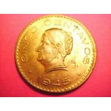 Moneda 5 Centavos De Josefa Fecha 1945