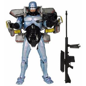 Robocop 3 Con Jetpack & Cañon Cobra De Asalto - Neca