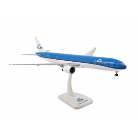 Klm Boeing 777-300er *nova Pintura* Hogan 1:200 C/trem Pouso
