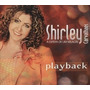Cd Play-back Shirley Carvalhaes A Espera De Um Milagre Cód.