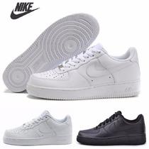 Nike Air Force Cano Baixo Tênis Sapatenis C Caixa Pronta Ent