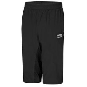 Pants 3/4 Skechers Amn001blk 68357