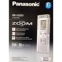 Gravador De Voz Panasonic Rr-us551 Novo Na Caixa Lacrado