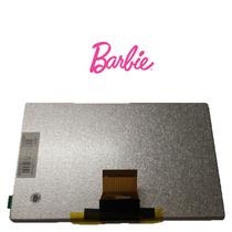 Display Lcd Tablet Dl Barbie Fantastic 7