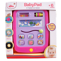 Babypad Elka Tablet Do Bebê - Rosa