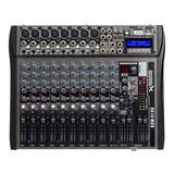 Consola Mixer 12 Canales Usb Mp3 Sd Sound Xtreme 16 Efectos