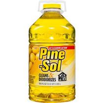 Pine-sol Limón Fresco Múltiples Superficies Limpiador 100 Oz