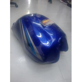 Tanque Azul Suzuki Yes Pintado E Reformado