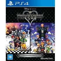 Kingdom Hearts 1.5 E 2.5 Hd Remaster Ps4 Lacrado Pré Venda