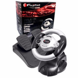 Volante Turbo Racing Usb Para Pc/ps1/ps2 Con Frenos Nisha