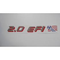 Adesivo 2.0 Efi C/ Bandeira Copa Usa P/ Monza Club,