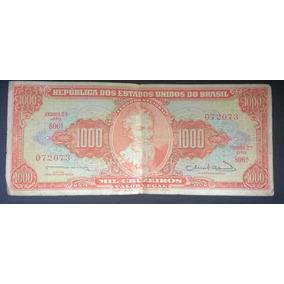 Nota De 1000 Cruzeiros Rara