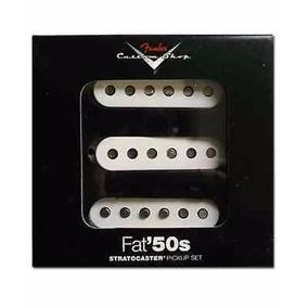 Fender Custom Shop Fat 50 Set De Microfonos Para Strato