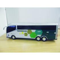 Miniatura Ônibus Rodoviário Viação Transbrasiliana