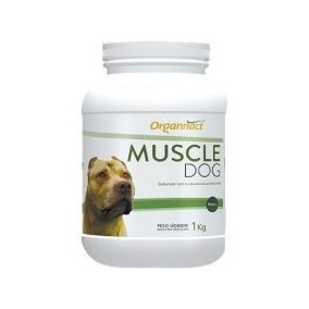 Muscle Dog 1kg Organnact Suplemento Frete Grátis