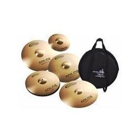 Kit Set De Pratos Orion Linha Solo Pro Sp 102 Com Bag