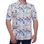 Camisa Floral Masculina Tropical Praia Joaquina Buon Giorno