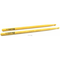 Baqueta Los Cabos Power Beat White American Hickory 5b (padr