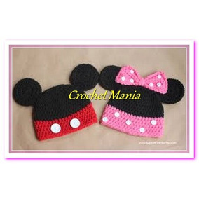 Gorros A Crochet Para Niña Detalles Mimi Minnie