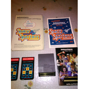 Intellivoice Space Spartans Intellivision Martelo Electronic