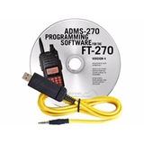 Adms-270 Soft Y Cable Programación Original Yaesu Ft-270