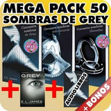 Pack 50 Sombras De Grey El James Pdf + Audiolibros + Bonos