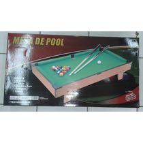 Mesa De Pool. Jeidy Toys. Oferta!!!.