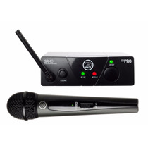Akg Wms40 Mini Pro Set Receptor Inalambrico Mic Vocal Mano