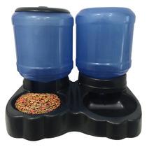 Alimentador Bebedouro Duplo Automatico P Cães Grande 10l 4kg
