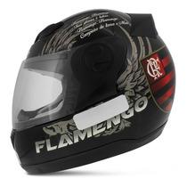 Capacete Fechado Oficial Flamengo Evolution 788 G4 Tam. 56