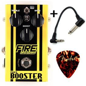 Fire Power Booster - Pedal De Ganho + Frete Grátis