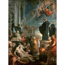 Lienzo Tela El Milagro De San Francisco Javier Paul Rubens